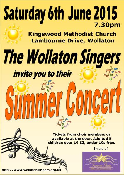 Summer 2015 Concert poster A4